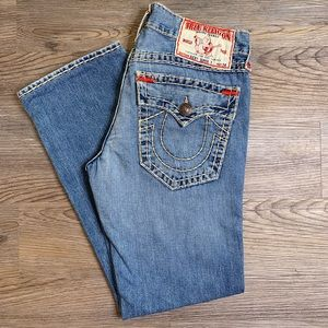 Mens True Religion Ricky Super T Jeans